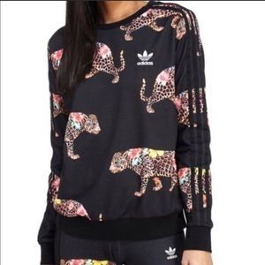 Adidas Farm X Rio Jaguar Leopard Tiger Sweatshirt